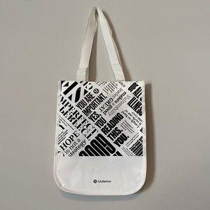 Lululemon Reusable Small Tote Bag